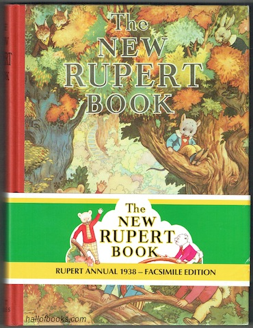 Image for The New Rupert Book (Rupert Annual 1938 - Facsimile Edition)