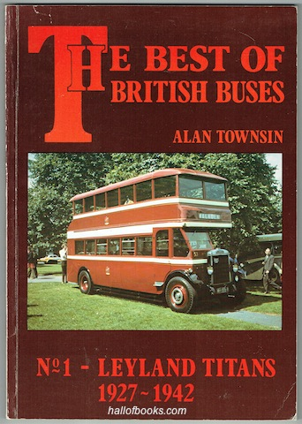Image for The Best Of British Buses No. 1: Leyland Titans 1927-1942