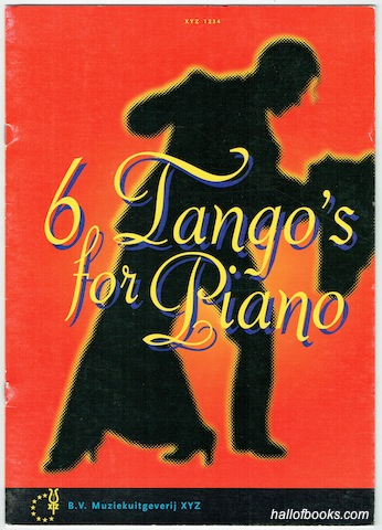 Image for 6 Tango's For Piano