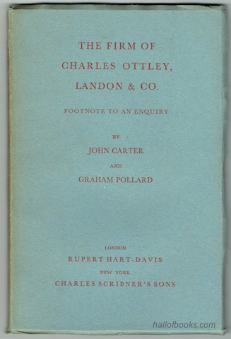 "Image for ""The Firm Of Charles Ottley, Landon & Co.: Footnote To An Enquiry"""