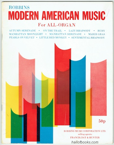 Image for Robbins Modern American Music For All-Organ