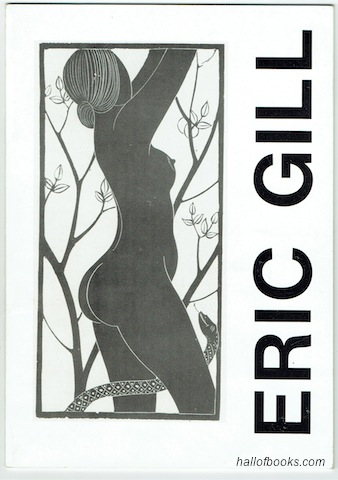 "Image for ""Eric Gill 1882-1940, Prints and Drawings: A Centenary Tribute March 25-April 24 1982"""