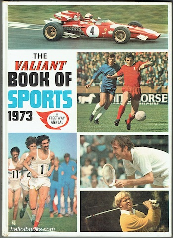 Image for The Valiant Book Of Sports 1973