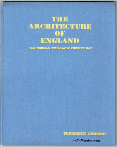 Image for The Architecture Of England From Norman Times To The Present Day