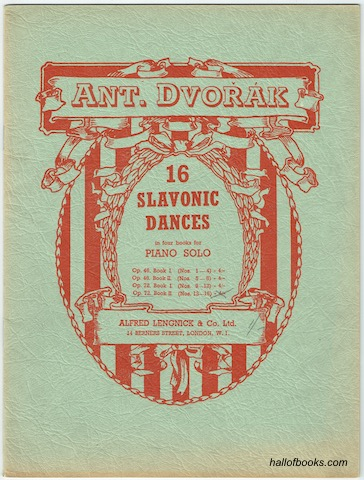 Image for 16 Slavonic Dances In Four Books For Piano Solo: Op. 72 Book II (Nos. 13-16)