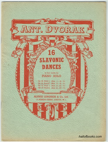 Image for 16 Slavonic Dances In Four Books For Piano Solo: Op. 46 Book II (Nos. 5-8)