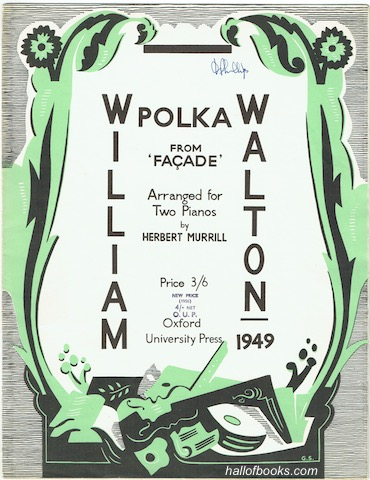 Image for Polka from Facade, Arranged for Two Pianos by Herbert Merrill (Two Scores)