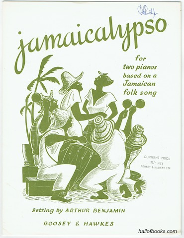 Image for Jamaicalypso for two pianos, based on a Jamaican folk song (two scores)