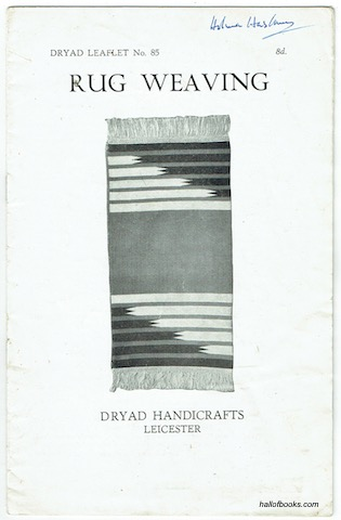 Image for Rug Weaving (Dryad Leaflet No. 85)