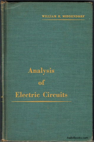 Image for Analysis Of Electric Circuits