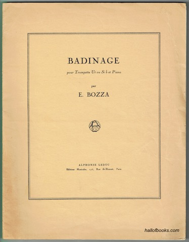 Image for Badinage pour Trompette et Piano
