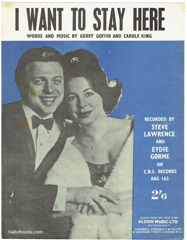 Image for I Want To Stay Here: Recorded by Steve Lawrence and Eydie Gorme