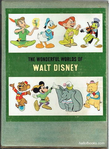 Image for The Wonderful Worlds Of Disney Complete In 4 Volumes: Fantasyland, America, Stories From Other Lands, Worlds Of Nature.