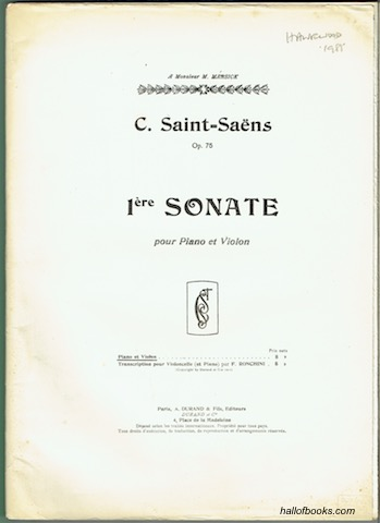 Image for Op. 75 No. 1: Sonate pour Piano et Violon