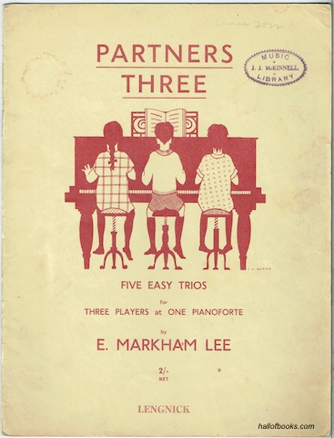 Image for Partners Three: Five Easy Trios For Three Players At One Pianoforte