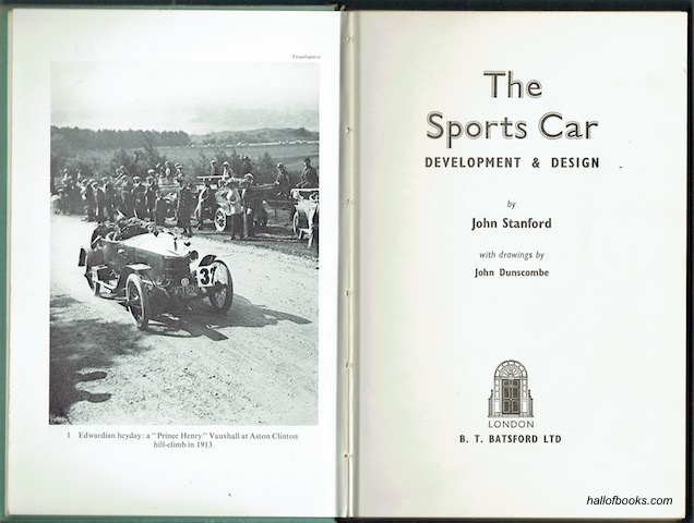 Image for The Sports Car: Development and Design