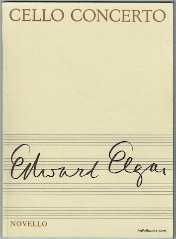 Image for Cello Concerto, Opus 85. (Study Score, catalogue number 89 0029 09)