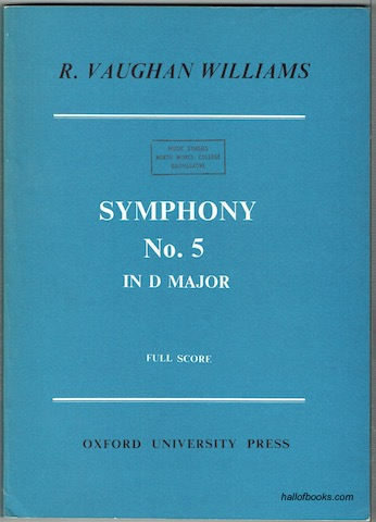 Image for Symphony No. 5 In D Major. Study Score