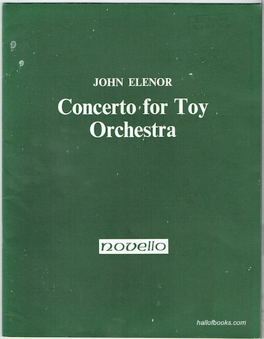 Image for Concerto For Toy Orchestra In One Movement