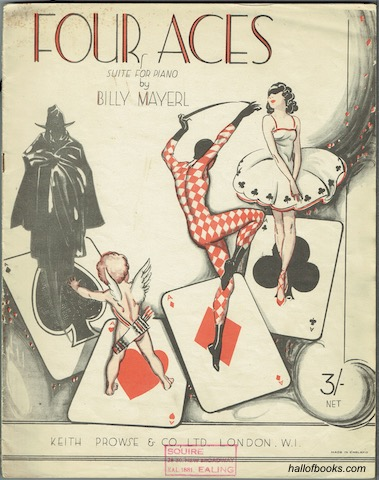 Image for Four Aces: Suite For Piano