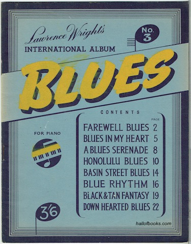 Image for Lawrence Wright's International Album No. 3: Blues