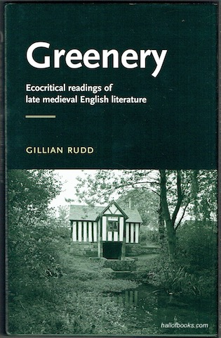 Image for Greenery: Ecocritical Readings Of Late Medieval English Literature