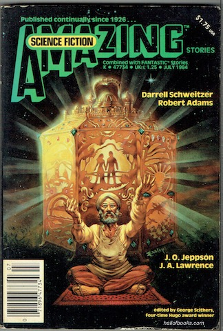 Image for Amazing  Science Fiction Stories Combined With Fantastic: Vol 58 No. 2, July 1984
