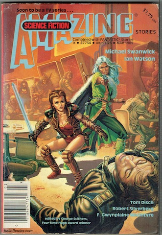 Image for Amazing  Science Fiction Stories Combined With Fantastic: Vol 58 No. 6, March 1985