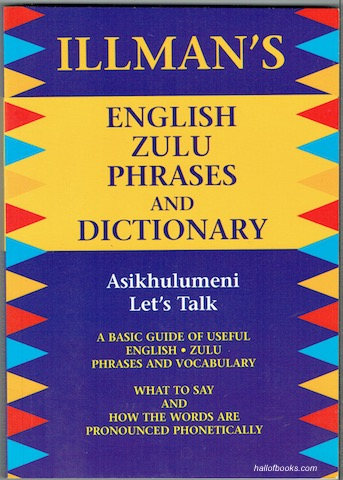 Image for Illmans English Zulu Phrases And Dictionary