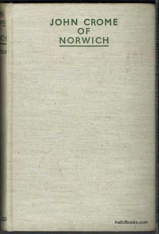 Image for John Crome Of Norwich
