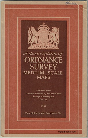 Image for A Description Of Ordnance Survey Medium Scale Maps