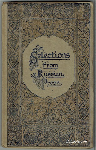 Image for Selections From Russian Prose