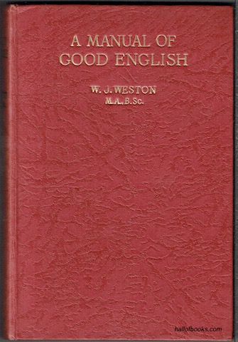 Image for A Manual Of Good English