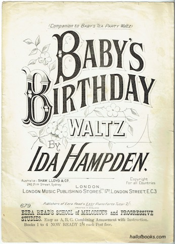 Image for Baby's Birthday Waltz (Piano Solo)