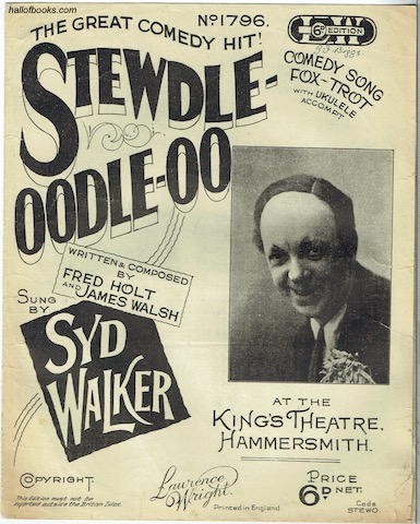 Image for Stewdle-Oodle-Oo: Comedy Song Fox-Trot Sung By Syd Walker