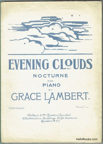 Image for Evening Clouds: Nocturne For Piano