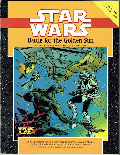 Image for Star Wars: Battle For The Golden Sun (Star Wars Roleplaying Game)