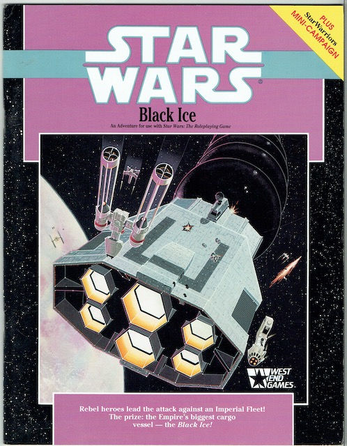 Image for Star Wars: Black Ice (Star Wars Roleplaying Game)