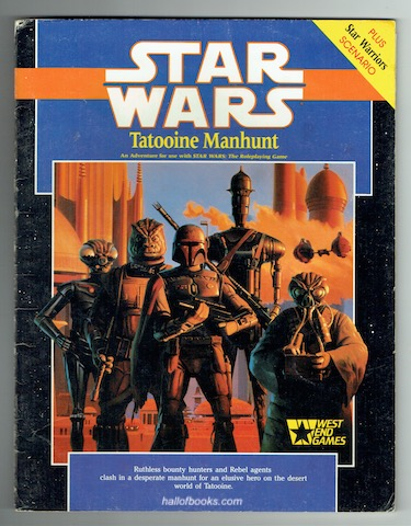 Image for Star Wars: Tatooine Manhunt (Star Wars Roleplaying Game)