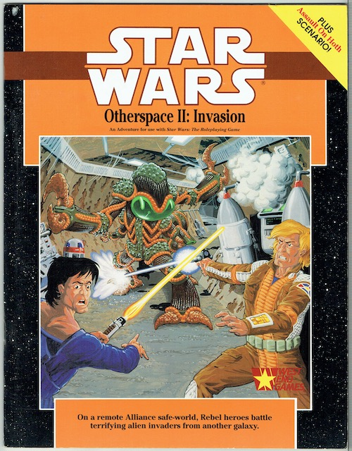 Image for Star Wars: Otherspace II: Invasion (Star Wars Roleplaying Game)