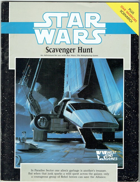Image for Star Wars: Scavenger Hunt (Star Wars Roleplaying Game)