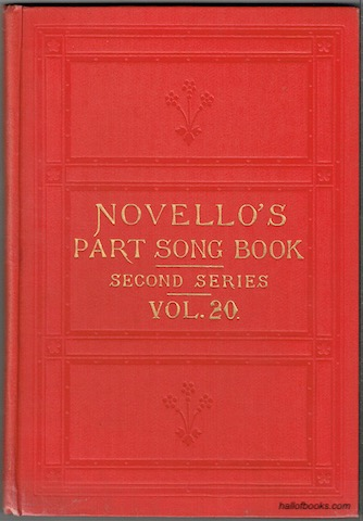 Image for Novello's Part-Song Book (Second Series): A Collection Of Part-Songs, Glees And Madrigals. Vol. 20