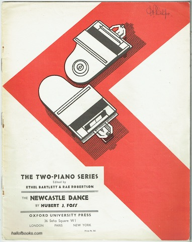 Image for The Newcastle Dance (The Two-Piano Series)