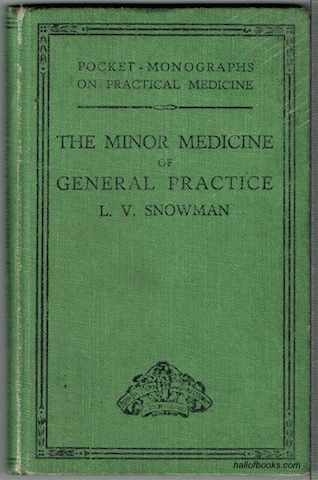 Image for The Minor Medicine Of General Practice (Pocket-Monographs On Practical Medicine)
