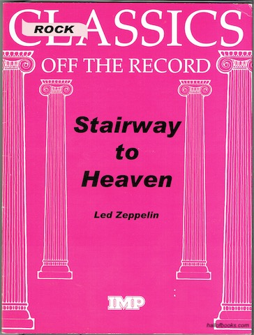 Image for Stairway To Heaven (Rock Classics Off The Record). Full Score.