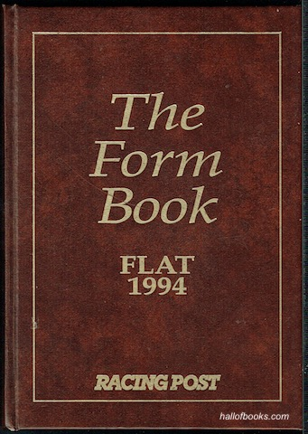 Image for The Form Book: Flat 1994