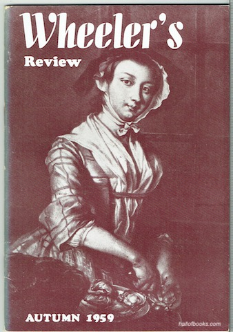 Image for Wheeler's Review Autumn 1959