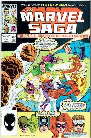 Image for The Marvel Saga Vol. 1, No. 17: Man's Inhumanity (The Official History Of The Marvel Universe)