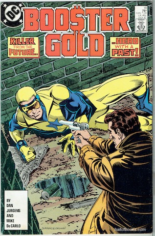 Image for Booster Gold No. 18: Showdown