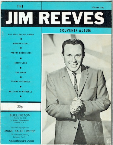 Image for The Jim Reeves Souvenir Album Volume Two